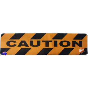 "Adhesive Anti Slip Tread ""CAUTION"""