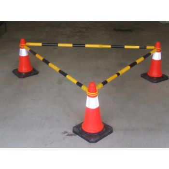 Retractable Safety Pole Barrier