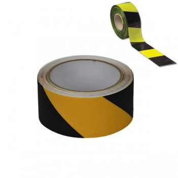 100mtr Black & Yellow Barrier Tape