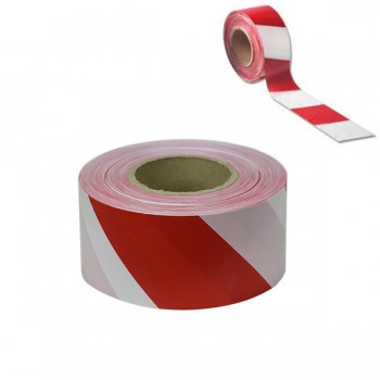 100mtr Red & White Barrier Tape
